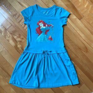 3/$25 Disney Ariel Dress form Girls size 7